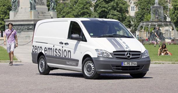 Mercedes Vito E-Cell / Almanya / Stuttgart / Elektrik