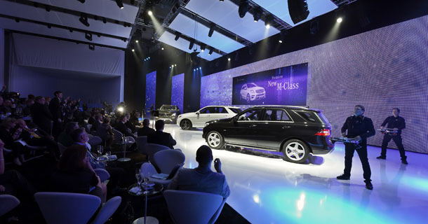 Premiere and Tec-Day Mercedes-Benz M-Class