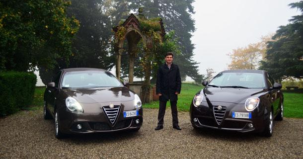 Alfa Romeo Giulietta and MiTo