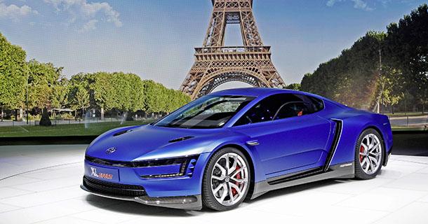 Mondial de lAutomobile 2014 / Volkswagen XL Sport