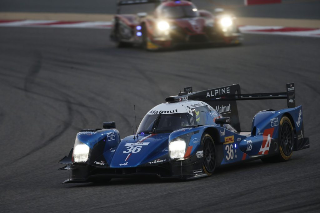 ALPINE A460 N° 36 SIGNATECH-ALPINE IN RACE