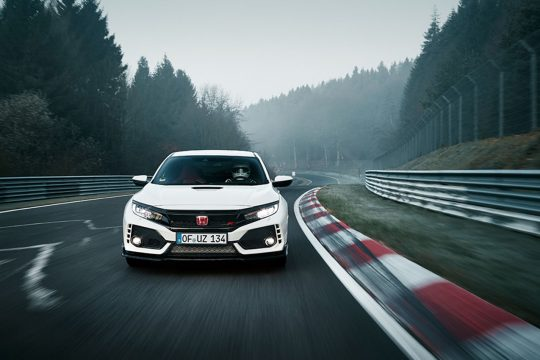 2017 Honda Civic Type R at Nürburgring