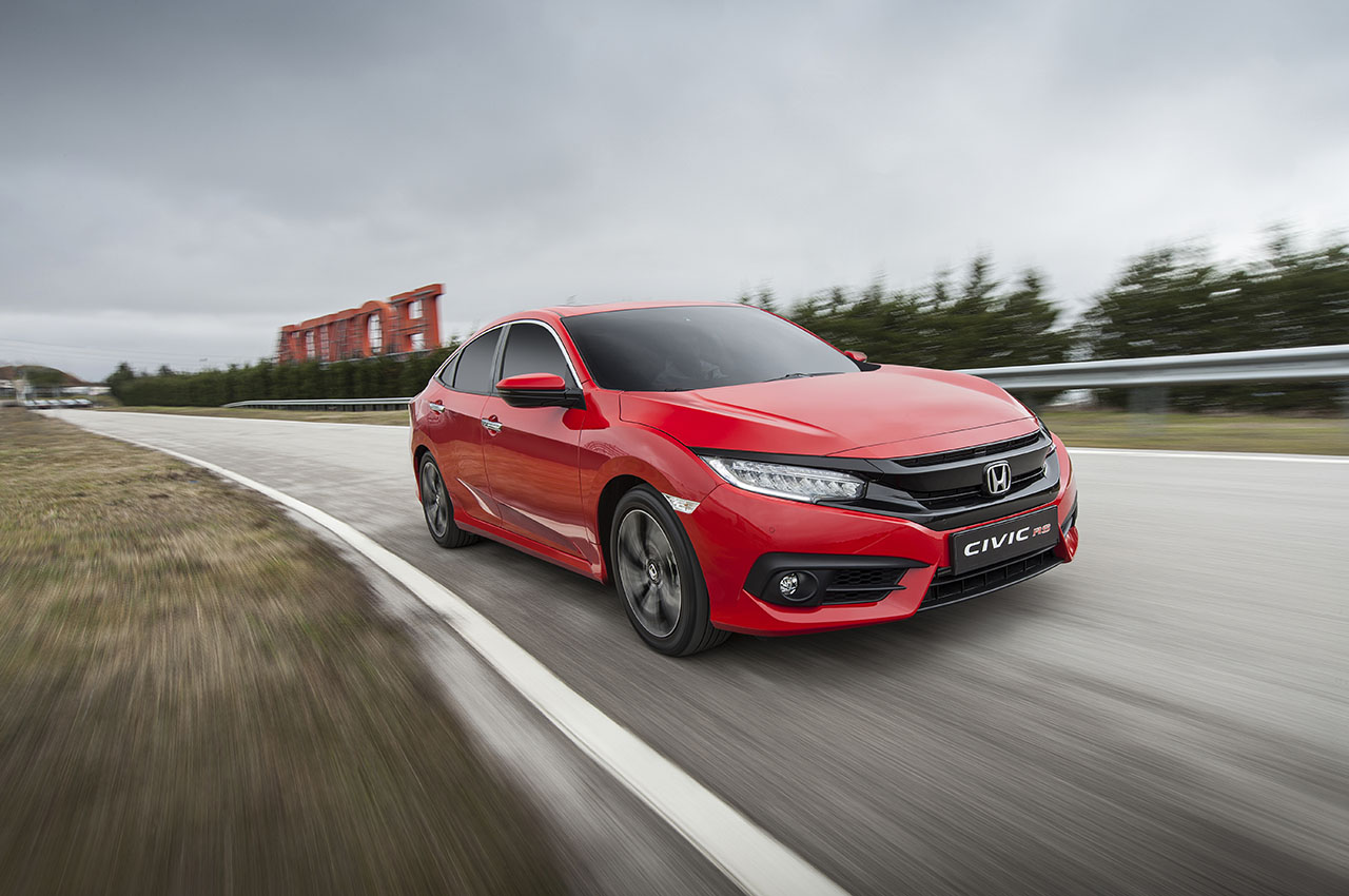 Honda Civic Rs Türkiyede Carmedya