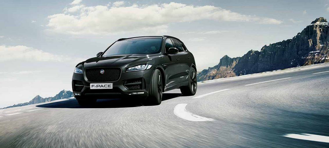 Jaguar F-PACE Black Sport Edition