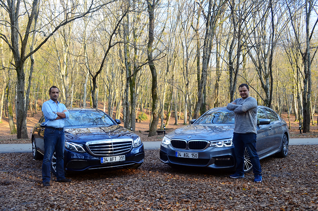 Test Mercedes-Benz E180 - BMW 520i