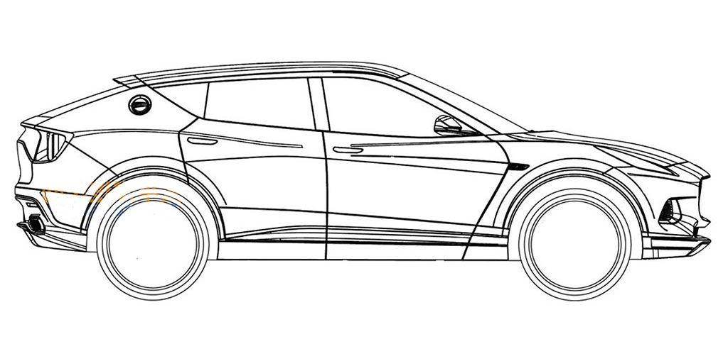 Lotus SUV Patents