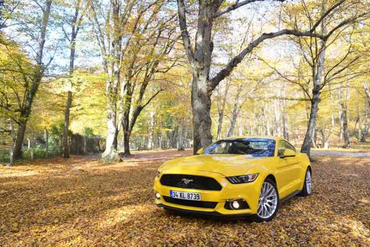 Test Ford Mustang 2.3 Ecoboost Powershift