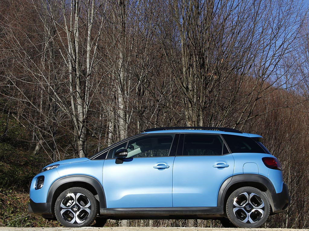 Test Citroen C3 Arcross 2018
