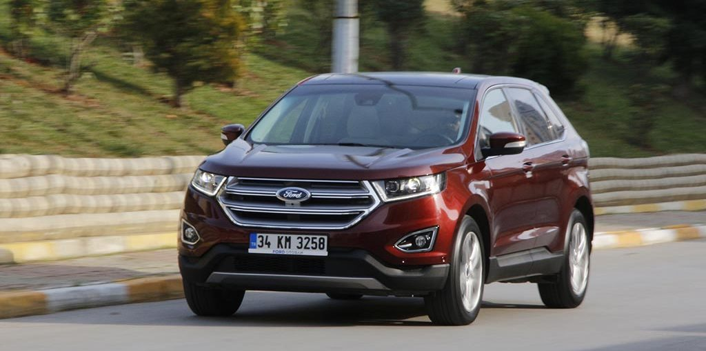 Test Ford Edge 2018