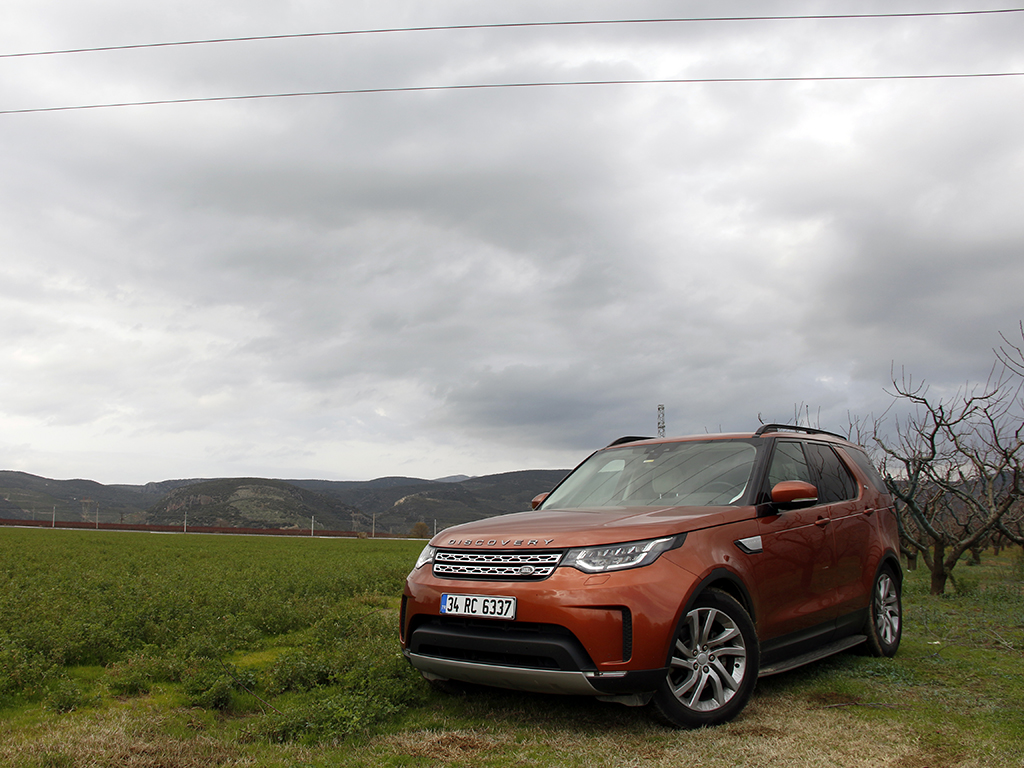 Test Land Rover Discovery 2018