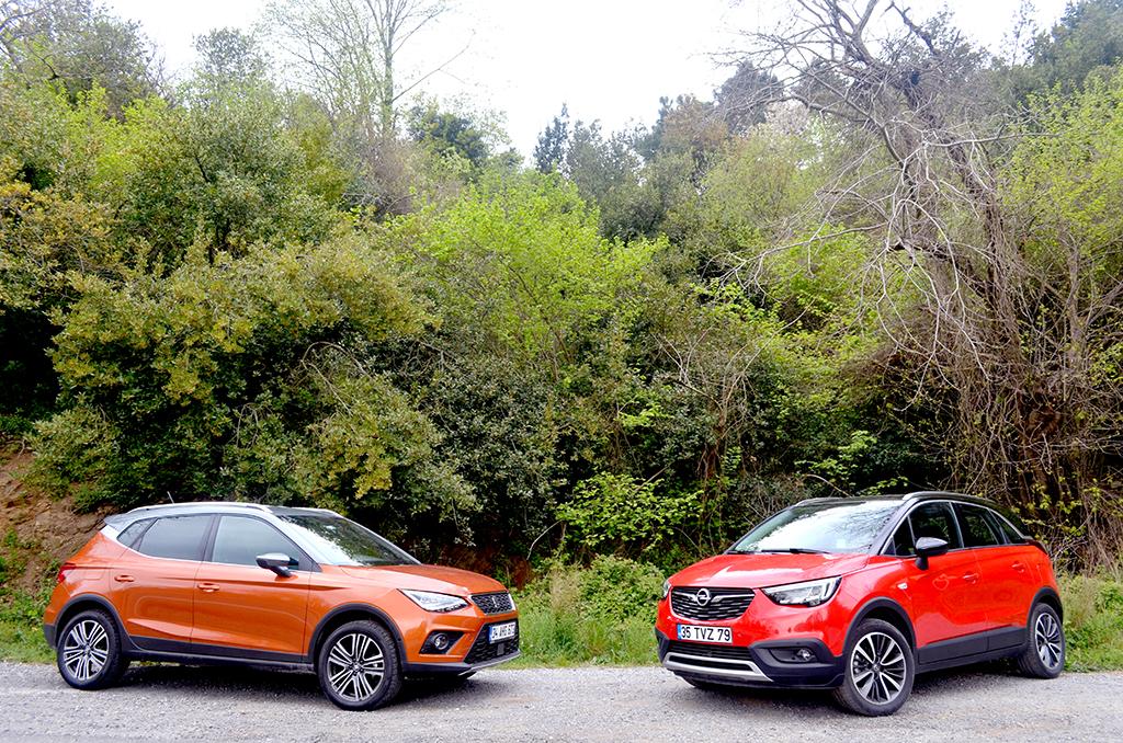 Karşılaştırma | Opel Crossland X vs Seat Arona