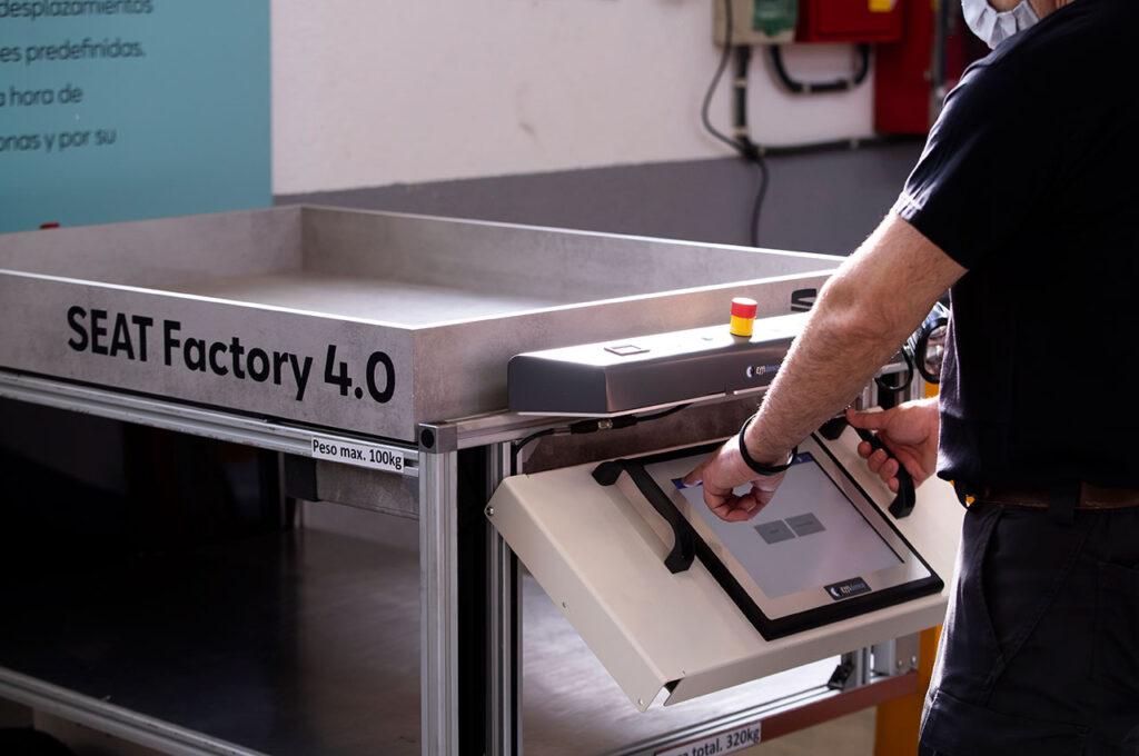 Seat Martorell Fabrikasında Akıllı Robotlar